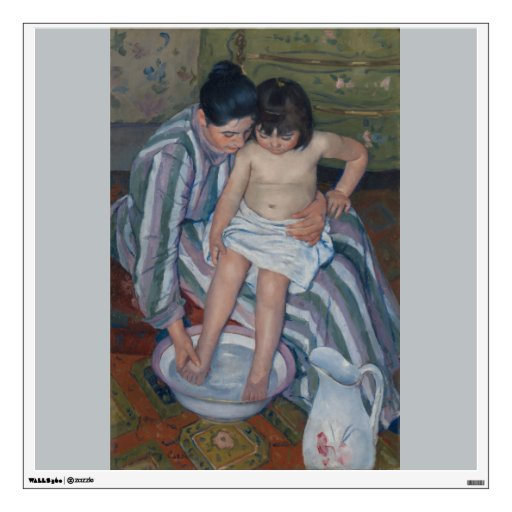 The Child's Bath by Mary Cassatt Wall Decal