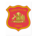 the Chilean Army, Chile Postcard
