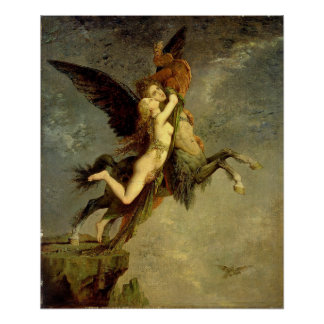 The Chimera by Gustave Moreau Poster
