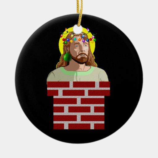 The Chimney Jesus Christmas Ornament