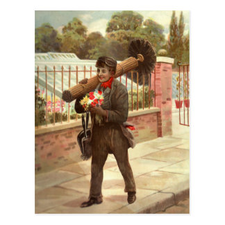 The Chimney Sweep Postcard