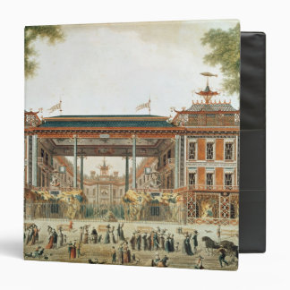 The Chinese Baths in Paris, established by Lenoir 3 Ring Binder