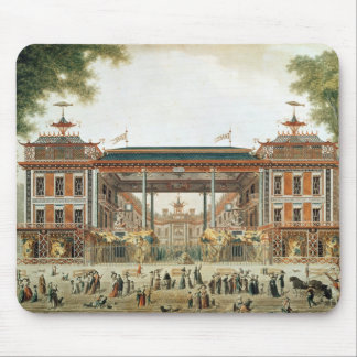 The Chinese Baths in Paris, established by Lenoir Mouse Pad