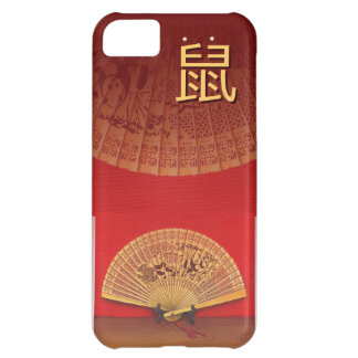 """The Chinese fan - Zodiac sign """"rat, 鼠"""" iPhone 5C Cover"""