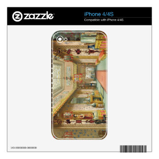The Chinese Gallery, from 'Views of the Royal Pavi iPhone 4 Decals