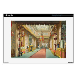 "The Chinese Gallery, from 'Views of the Royal Pavi Skin For 15"" Laptop"