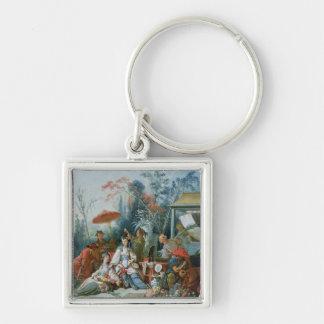 The Chinese Garden, c.1742 Key Chain
