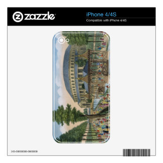The Chinese House, the Rotunda and the Company in iPhone 4 Decals