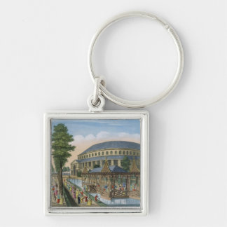 The Chinese House, the Rotunda and the Company in Keychain