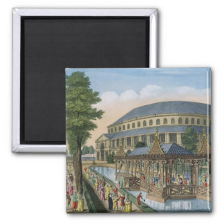 The Chinese House, the Rotunda and the Company in Fridge Magnet