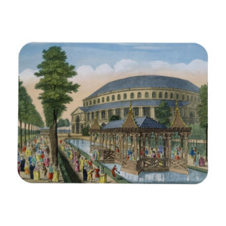 The Chinese House, the Rotunda and the Company in Rectangular Magnet