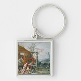 The Chinese Hunt, c.1742 Key Chains