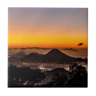 The Chinese Pavilion, Rio De Janeiro, Brasil Ceramic Tile
