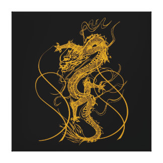 The Chinese year of the dragon 2012 Canvas Print