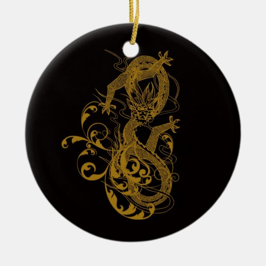 The Chinese year of the dragon 2012 Ceramic Ornament