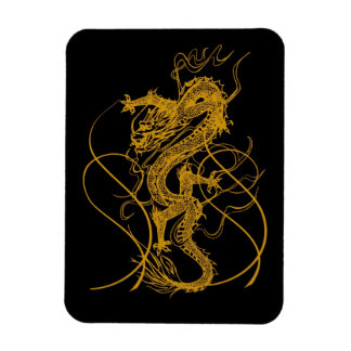 The Chinese year of the dragon 2012 Magnet