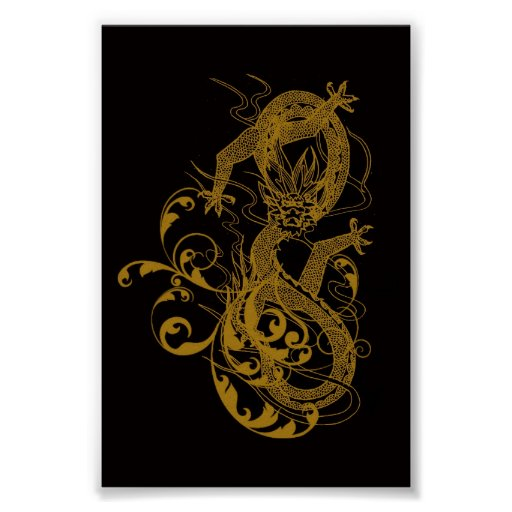 The Chinese year of the dragon 2012 Poster