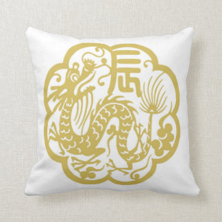 The Chinese year of the dragon 2012 Throw Pillow
