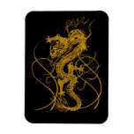 The Chinese year of the dragon 2012 Vinyl Magnet