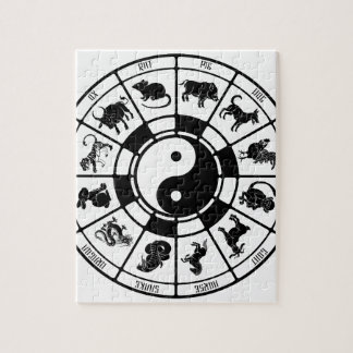 The Chinese Zodiac Animals Puzzle