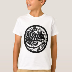 The Chinese Zodiac - The Rat T-shirt at Zazzle