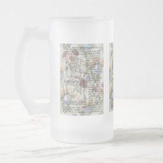 The Chippendale Chair Frosted Glass Mug