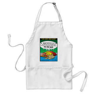 """The Chips Are Down"" Adult Apron"