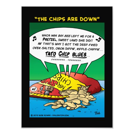 """""""The Chips Are Down"""" Photo"""