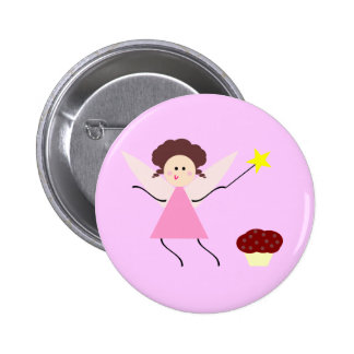 The Chocolate Fairy 2 Inch Round Button