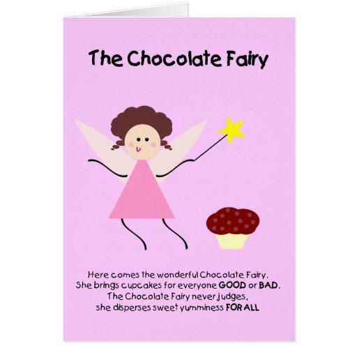 The Chocolate Fairy Card