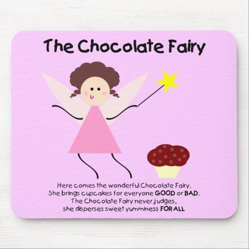 The Chocolate Fairy Mousepad