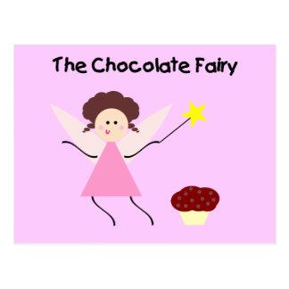 The Chocolate Fairy Postcard