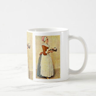 The Chocolate Girl (Miss Baldauf),  By Liotard Jea Mug