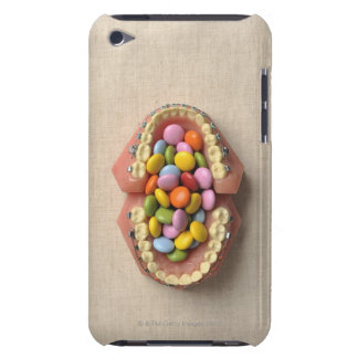 The chocolate served in the dental model Case-Mate iPod touch case