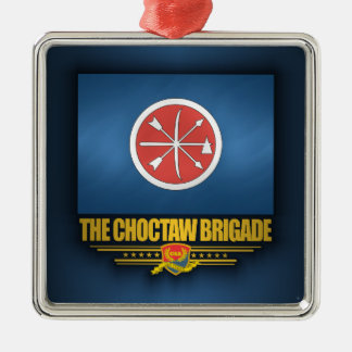 The Choctaw Brigade Metal Ornament