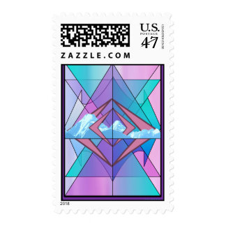 The Choice - Gallery Art Postage Stamp