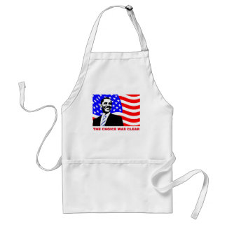 The choice was clear adult apron