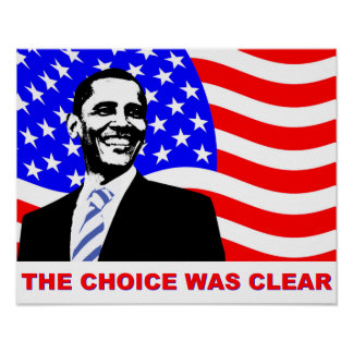 The choice was clear poster