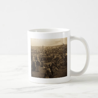 The Choosing Dance of the Blackfeet (Sepia) Classic White Coffee Mug