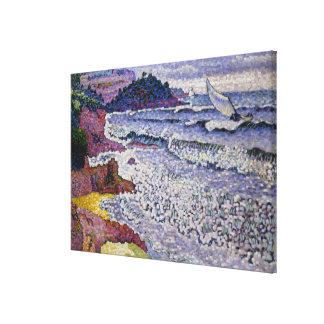 The Choppy Sea, 1902-3 Canvas Print