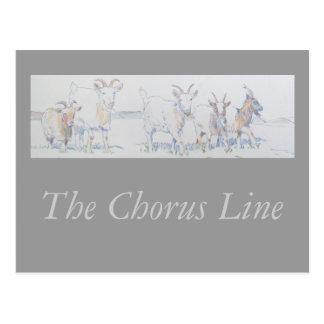 The Chorus Line Postcard