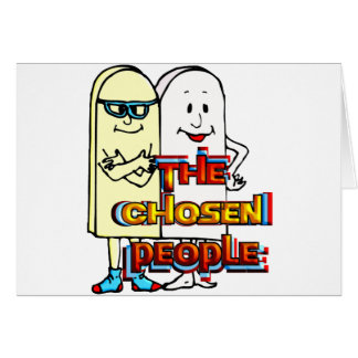 The Chosen People Stationery Note Card