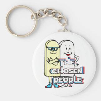 The Chosen People Basic Round Button Keychain
