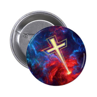 The Chrisian Cross out of The Heavens Buttons