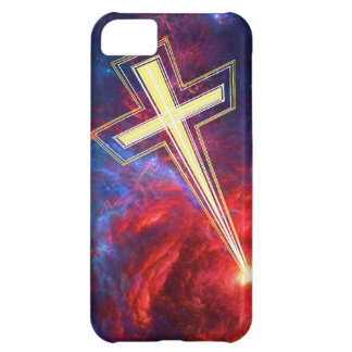 The Chrisian Cross out of The Heavens iPhone 5C Case