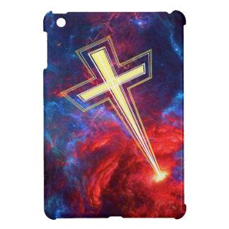 The Chrisian Cross out of The Heavens iPad Mini Cover
