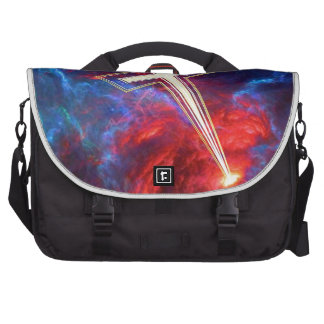The Chrisian Cross out of The Heavens Laptop Computer Bag