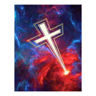 The Chrisian Cross out of The Heavens Letterhead