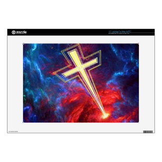 The Chrisian Cross out of The Heavens Skin For Laptop