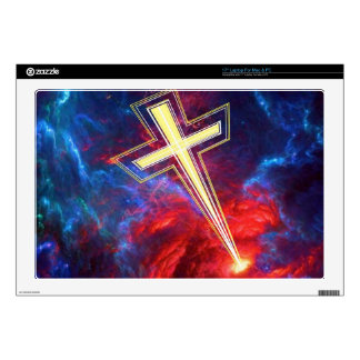 """The Chrisian Cross out of The Heavens Skins For 17"""" Laptops"""